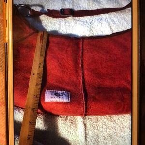 UGG Australia Burgundy Suede Medium Shoulder Bag